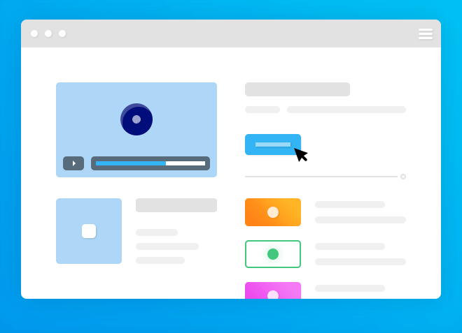 Browser Template PSD