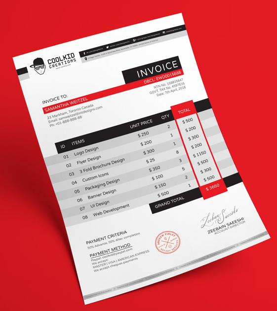 Business Invoices Free Under Bergdorfbib Co