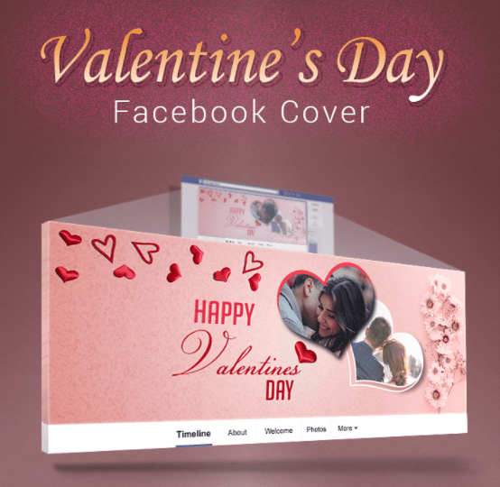 Free Valentines Day Facebook Cover