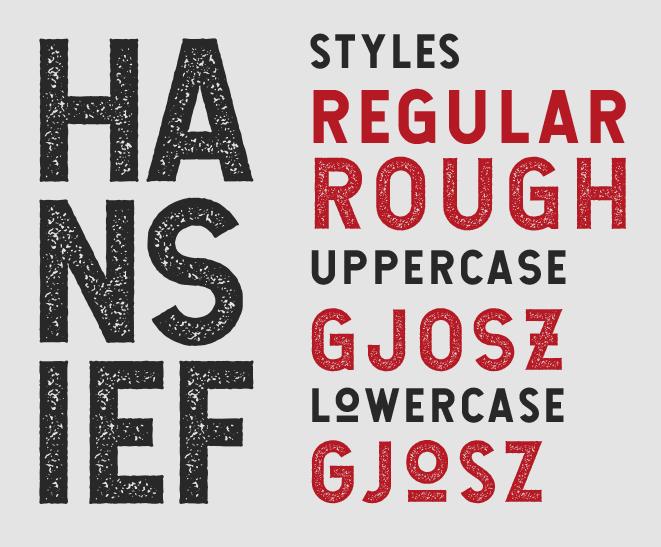 Hansief Typeface