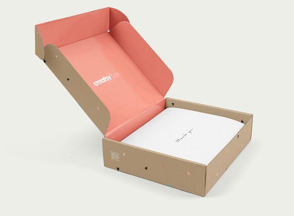 Mailing Box PSD MockUp
