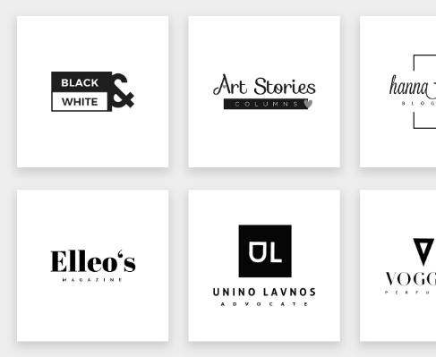 20 Free Minimal Logos