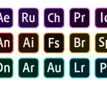 Adobe CC 2020 Vector Icons