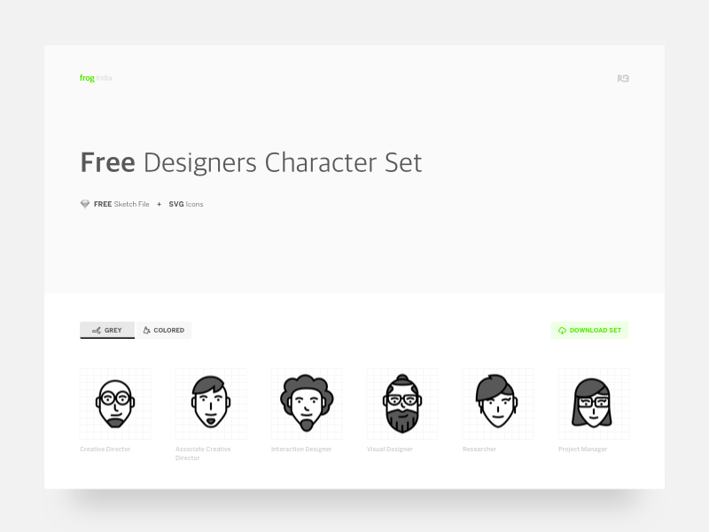 FREE Design Characters icons