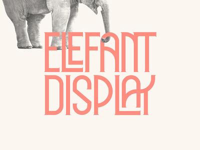 Elefant Display - Free Display Font