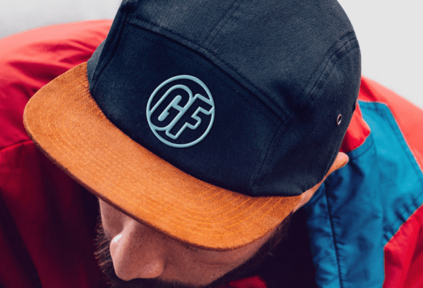 Cap With Realistic Embroidered Logo Mockup