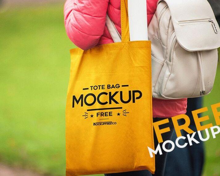 Tote Bag – Free PSD Mockup