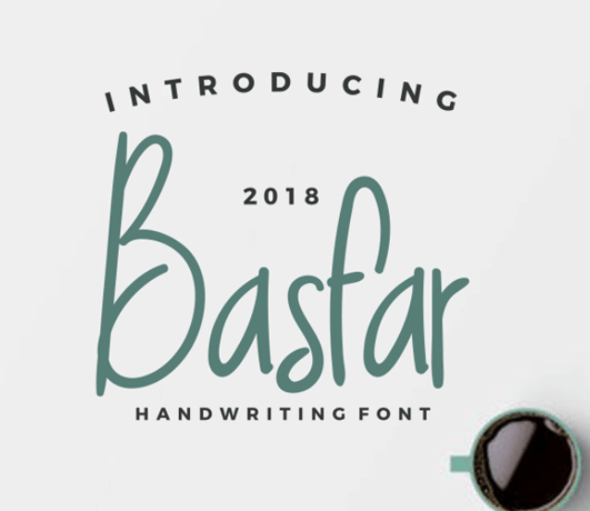 Basfar Handwriting Font-min