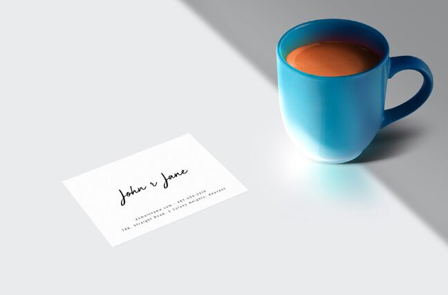 Business Card Mockups Set-min