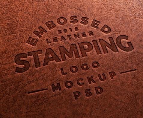 Embossed Leather Stamping Logo Mockup-min (1)
