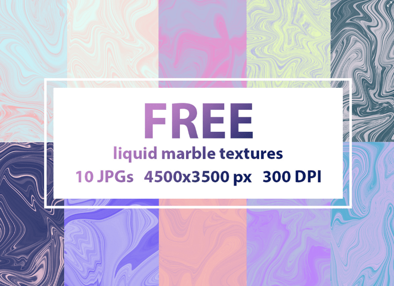 FREE liquid marble textures-min