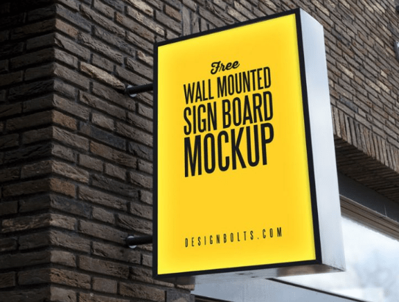 50 Free Outdoor Advertising Sign Billboard Psd Mockups