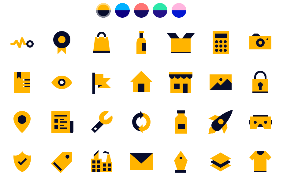 90+ Pixel Perfect SVG Icons For Photoshop And Sketch-min