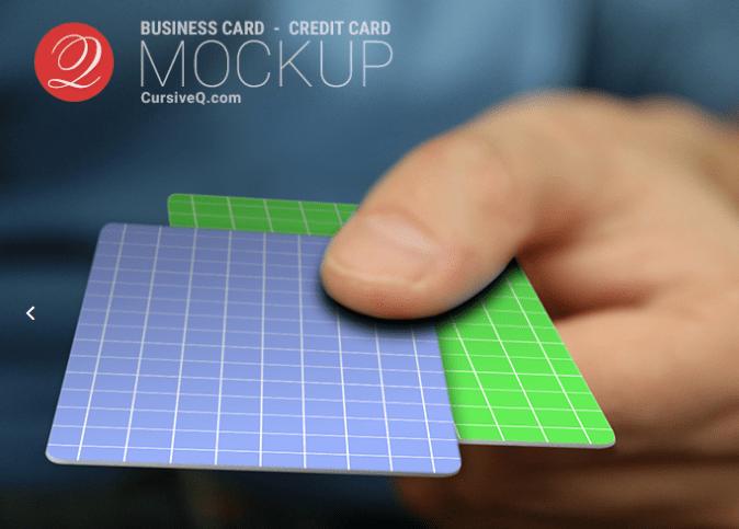 Credit Card Hand Mockup PSD-min