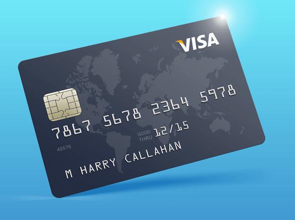 Credit Card Mockup Free PSD-min