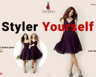 Dee Blak fashion landing page-min