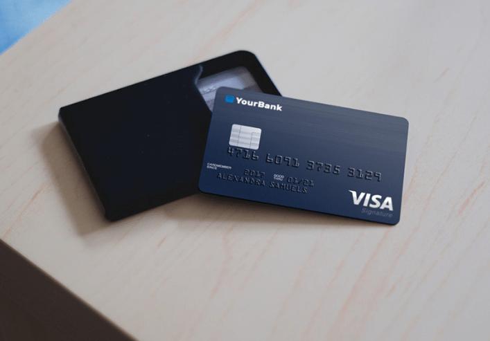 Free Credit Card Mockup-min