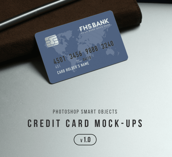 20 Best Realistic Credit Debit Card Mockups Updated For 2020