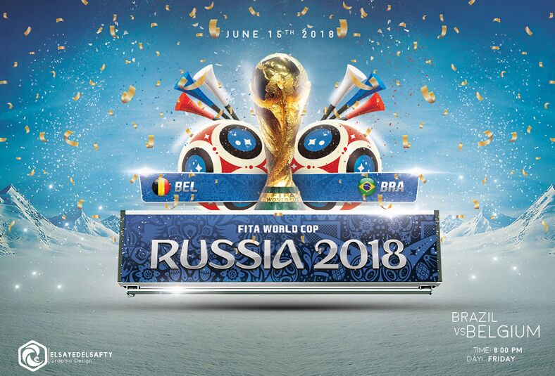 World Cup Russia 2018 Flyer Template-min