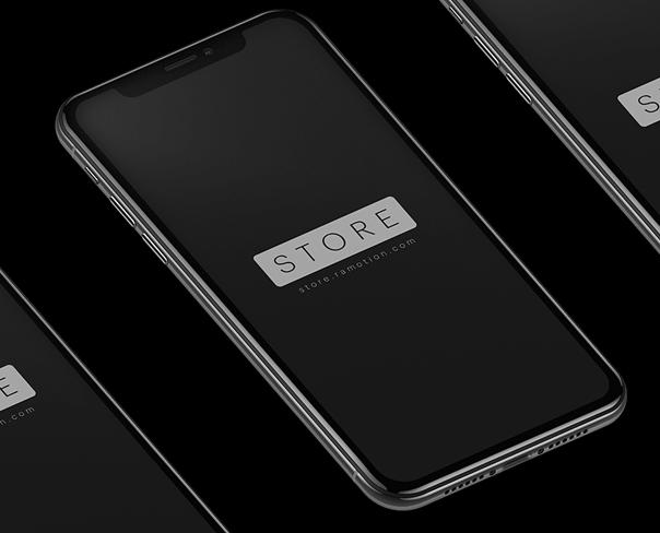 iPhone X mockup Free-min
