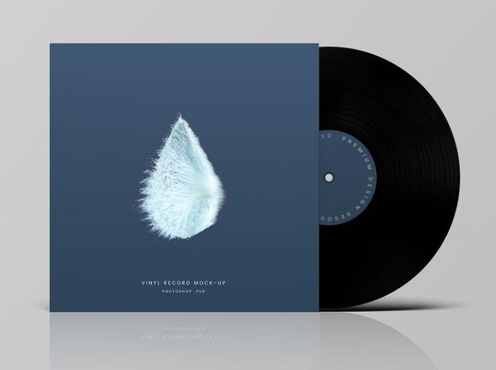 Vinyl Record Mockup-min