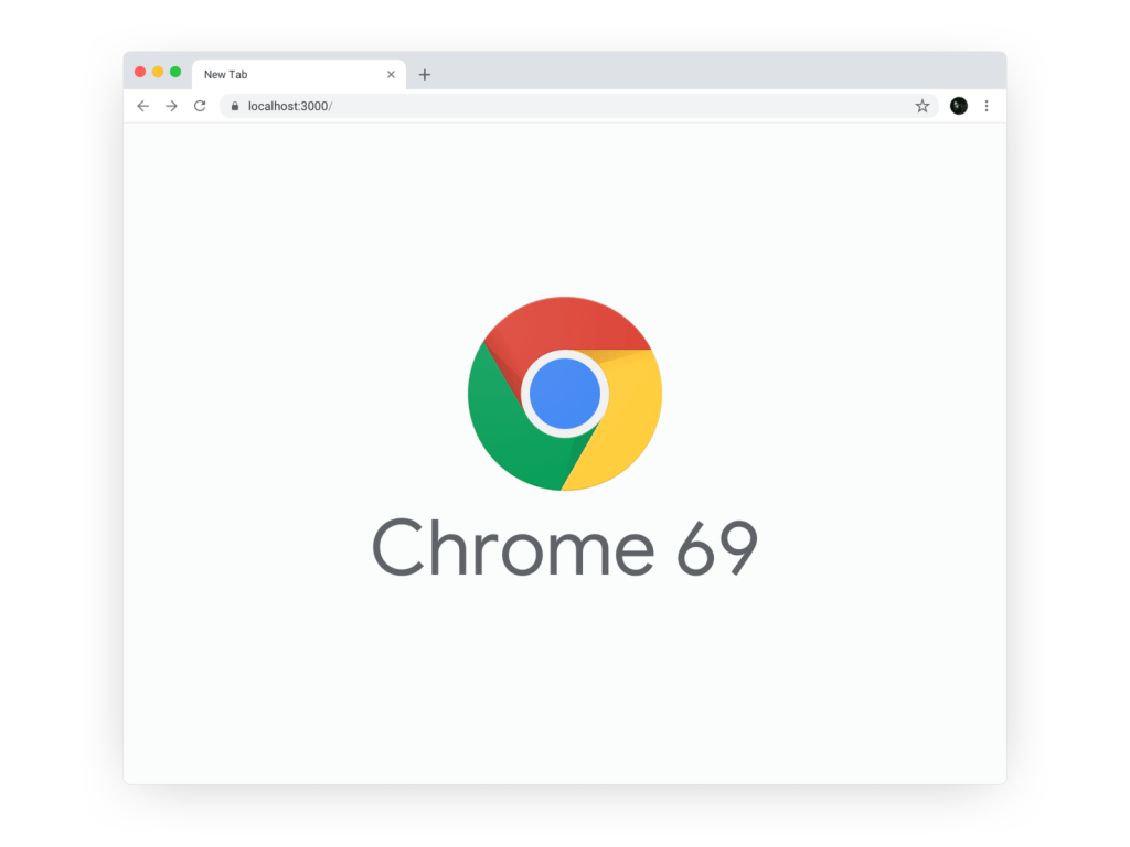 Google Chrome 69 Sketch Template Mockup