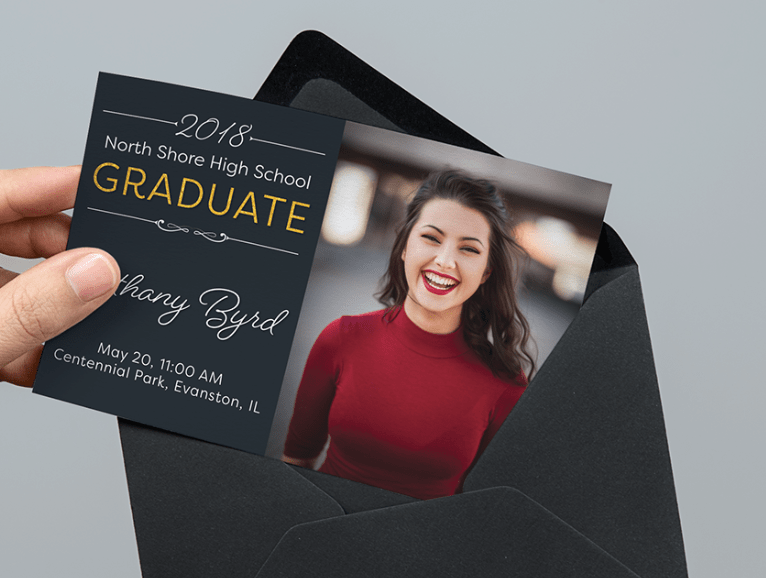 Grad Announcement Invite Template