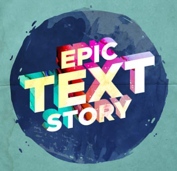 Vintage Watercolor 3D Text Effect