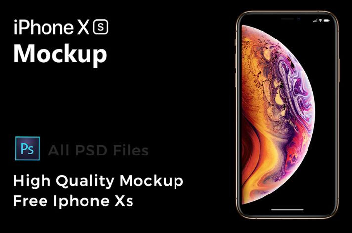 Free HD iPhone Xs Mockup