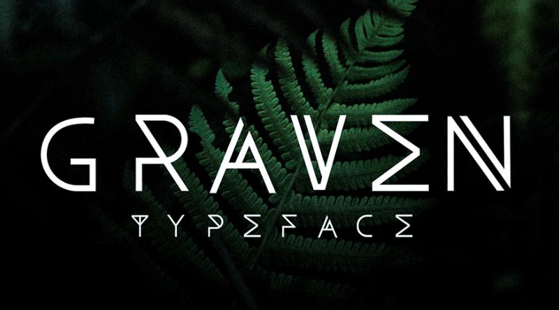 Graven - Free Font-min
