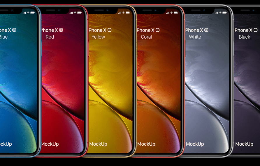 Psd iPhone XR Mockup-min