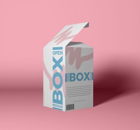 Free 40+ Best Packaging Mockups Free Packaging Open Box Mockup PSD