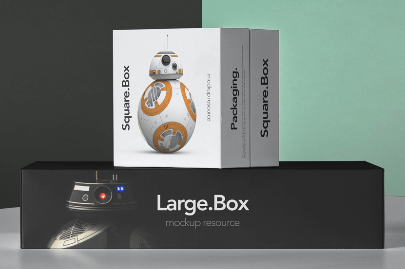 Psd Boxes Packaging Pack Mockup 4