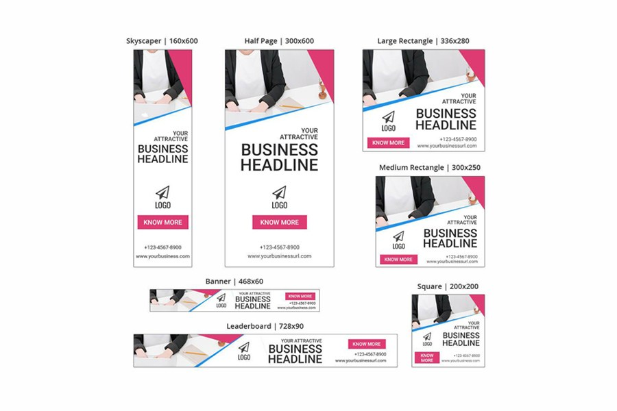 Business Banner - SEA Ad Templates