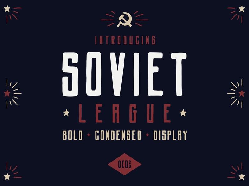 Soviet League Font