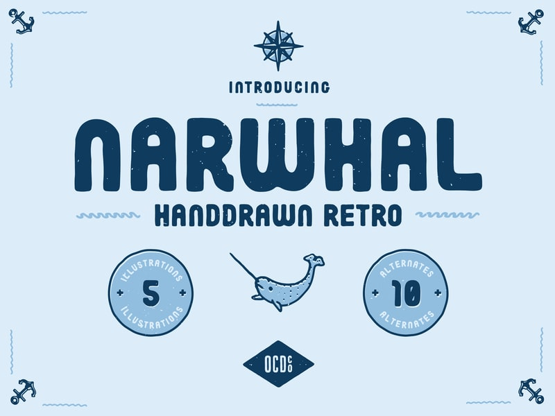 Narwhal Font