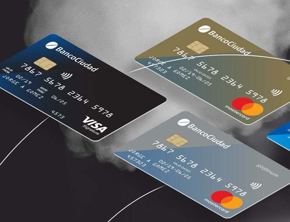 Contactless Credit Card Mockup