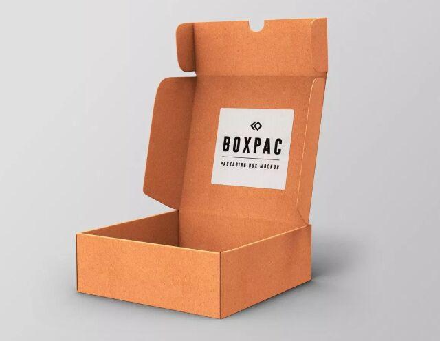 Food Packaging Box PSD Mockups