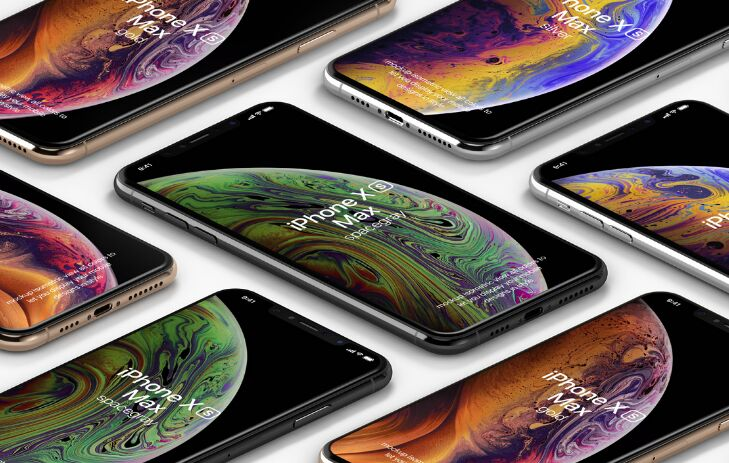 Psd iPhone XS Max Mockup