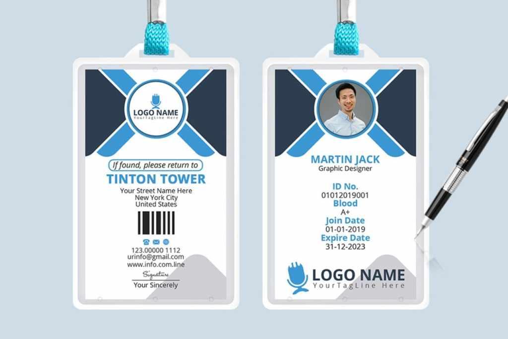Office ID Card Design