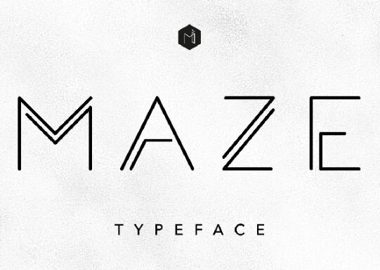 MAZE Typeface