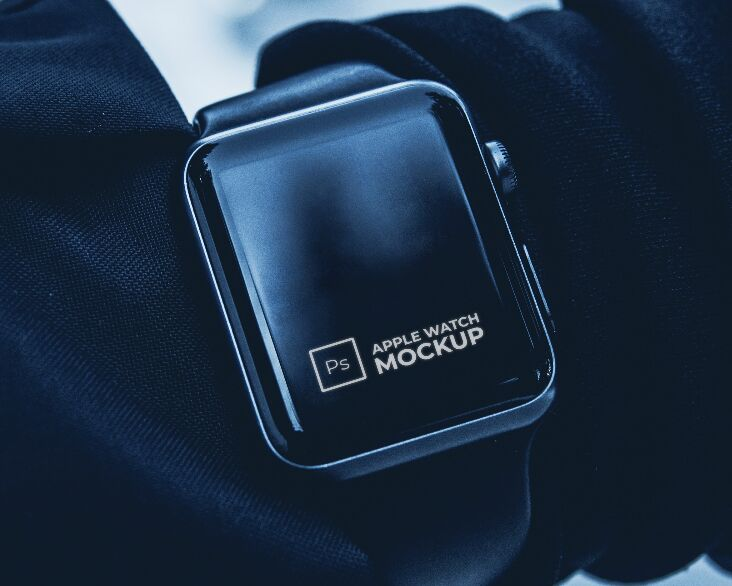 Sleek Apple Watch Mockup