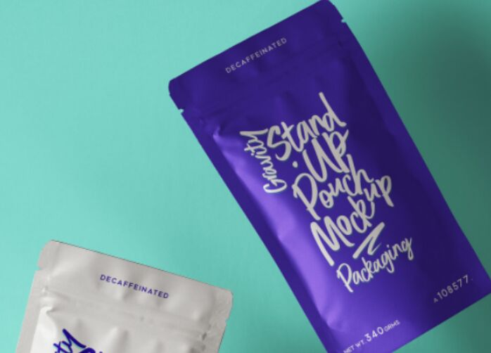 Stand-Up Psd Pouch Packaging Mockup