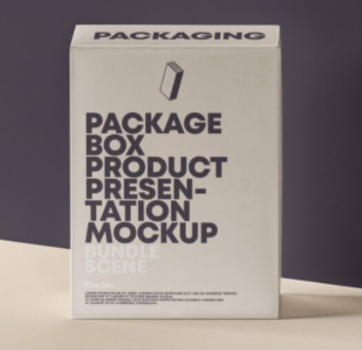 Psd Product Packaging Box Mockup