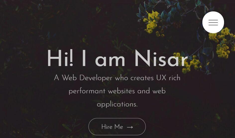 Modern Responsive Portfolio Web Template