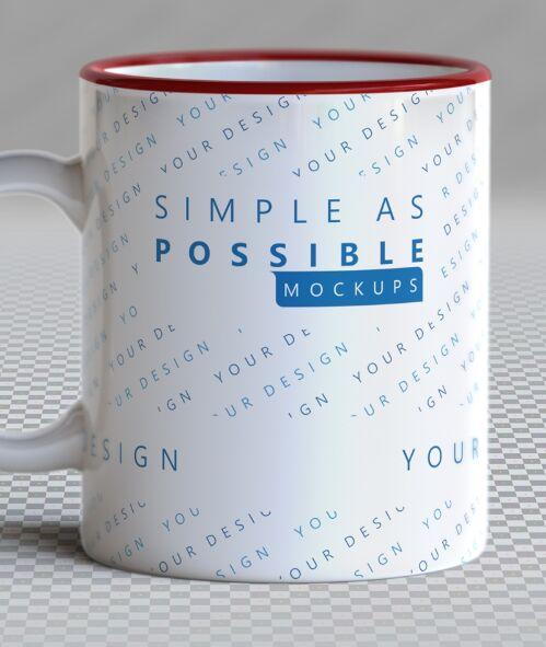 Easy To Use PSD Mug Mockup