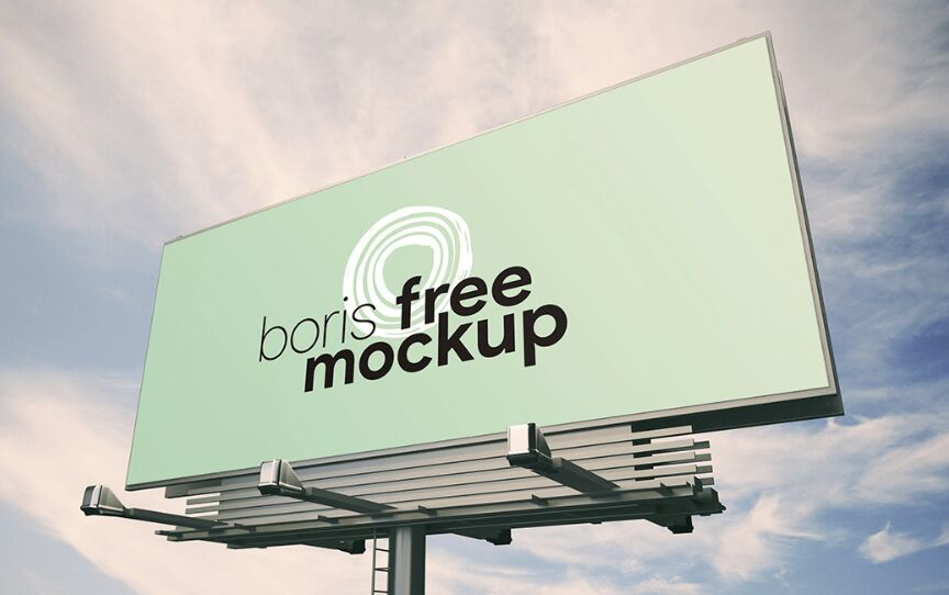 Giant Billboard PSD Mockup