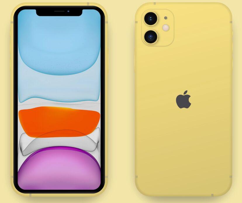 Realistic iPhone 11 XD Mockup