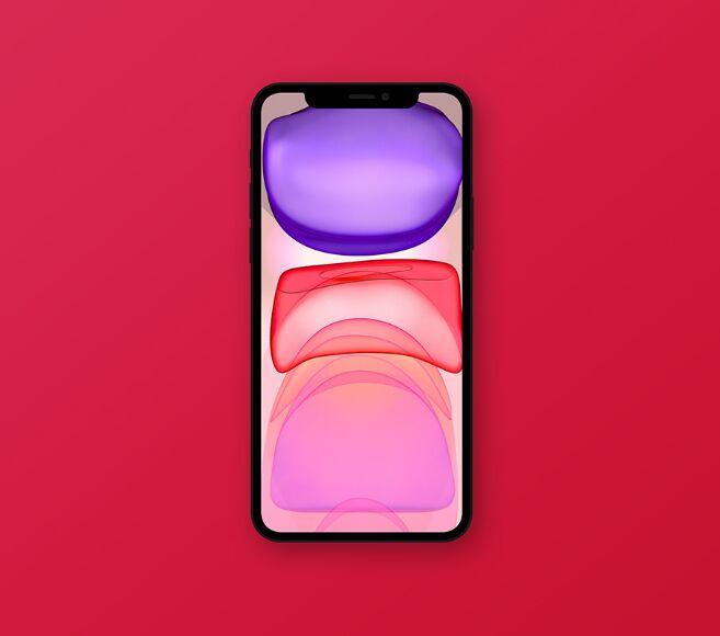 Simple Plain iPhone 11 Pro Mockup PSD