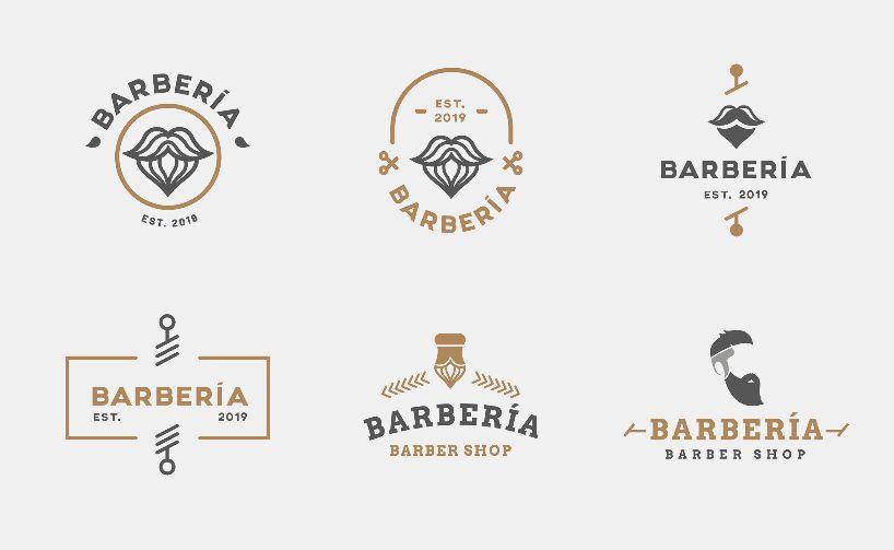 Baber Shop Free Logos